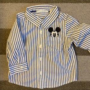 Baby Gap Mickey button down